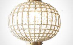 Crystal Globe Chandelier