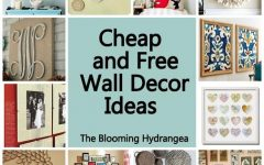 Cheap Wall Art and Decor