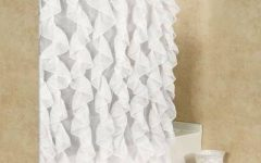 Maize Vertical Ruffled Waterfall Valance and Curtain Tiers