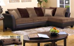 Chocolate Brown Sectional Sofas