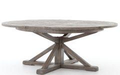 Black Olive Hart Reclaimed Pedestal Extending Dining Tables