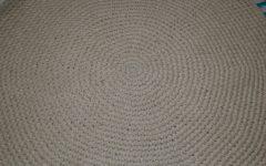 Circular Wool Rugs
