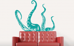 Octopus Tentacle Wall Art