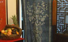 Fabric Door Curtains