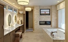 15 Best Bathroom TV Installation Ideas