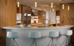 Contemporary Home Bar Furniture and Lighting Ideas