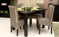 Small Dark Wood Dining Tables