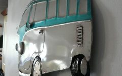 Campervan Metal Wall Art