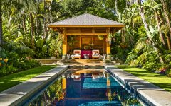 Tropical Home Garden For A Hot Style