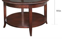 Copper Grove Halesia Chocolate Bronze Round Coffee Tables