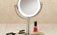 Magnified Vanity Mirrors