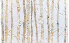Birch Trees Canvas Wall Art