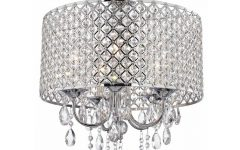 Chrome and Crystal Chandeliers