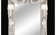 Wall Mirror With Crystals