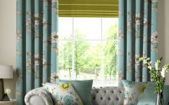 Curtains With Matching Roman Blinds