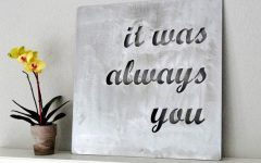 Metal Wall Art Quotes