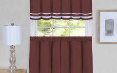 Dakota Window Curtain Tier Pair and Valance Sets