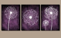Purple Wall Art for Bedroom