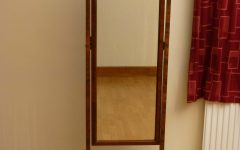Cream Cheval Mirror
