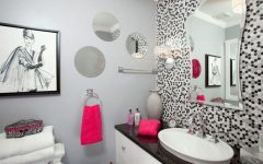 Glamorous Bathroom Wall Art