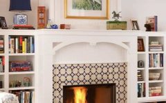 Decorative Ceramic Wall Tiles for Fireplace Wall Decor