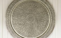 Decorative Metal Disc Wall Art