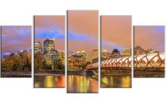 Calgary Canvas Wall Art