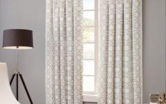 Sunsmart Dahlia Paisley Printed Total Blackout Single Window Curtain Panels
