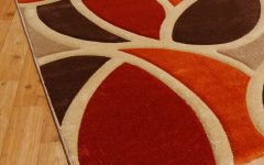 Brown Orange Rugs