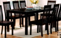 Black 8 Seater Dining Tables