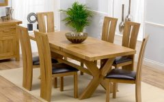 Extendable Dining Tables 6 Chairs