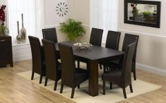 8 Chairs Dining Tables