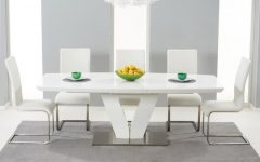 White Gloss Dining Sets