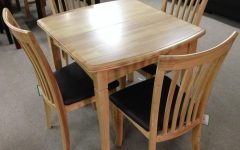Extending Dining Tables and 4 Chairs