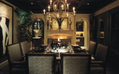 Dining Room Lighting Design for Romantic Nuance