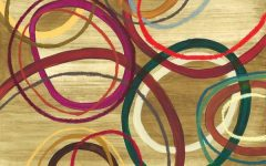 Abstract Circles Wall Art