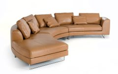 Camel Sectional Sofa