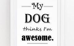 Dog Sayings Wall Art