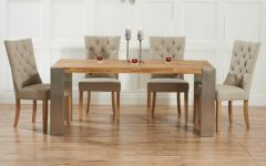 Extended Dining Tables and Chairs