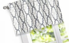 Trellis Pattern Window Valances