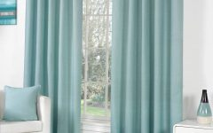 Duck Egg Blue Blackout Curtains