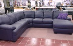 Eggplant Sectional Sofa