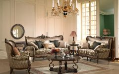 Elegant Fabric Sofas