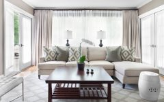 Elegant Living Room Curtain Design
