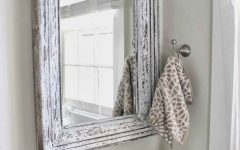 Shabby Chic Bathroom Mirrors