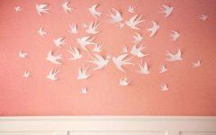 White Birds 3D Wall Art