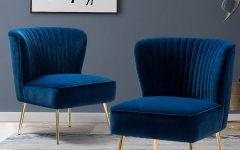 Erasmus Velvet Side Chairs (Set of 2)