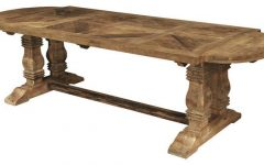 Oval Reclaimed Wood Dining Tables