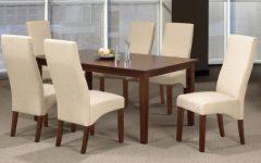 Espresso Finish Wood Classic Design Dining Tables