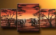 Safari Canvas Wall Art